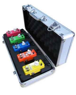 Xvive F1 Silver Flight Pedal Case - New