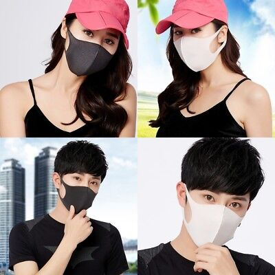Unisex Earloop Mask Cycling Anti Dust Haze Mouth Face Masks Surgical Respirator