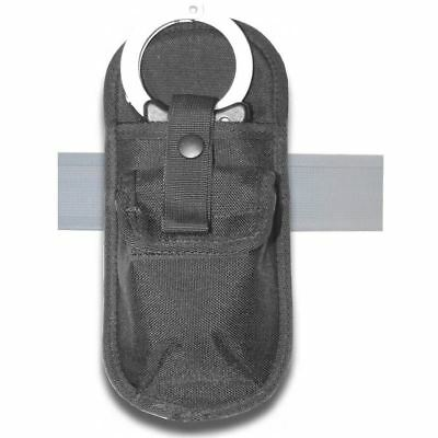 Protec hook and loop Rigid Police Handcuff Holder for body armor
