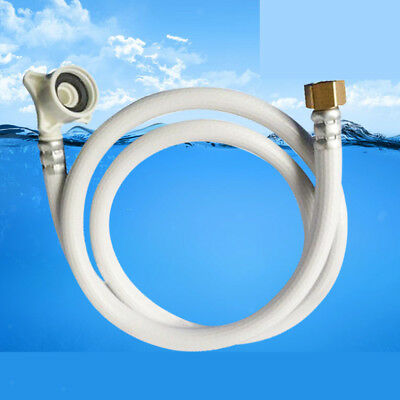 Household PVC Water Pipe Washer Connector Washing Machine Inlet Hose 1m