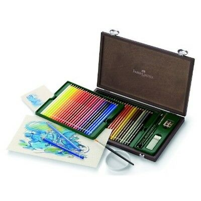 Faber-castell Albrecht Durer 48 Watercolor Pencil Studio Set, Box Of 48 Colors