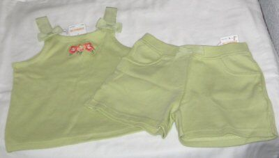 NWT Girls 4 GYMBOREE 2 Pc Outfit Shorts and Sleeveless Top NEW