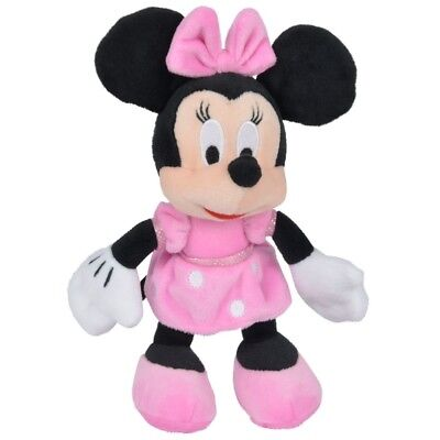 Minnie Maus - Disney Plüsch Figur Minnie Mouse Softwool 21cm
