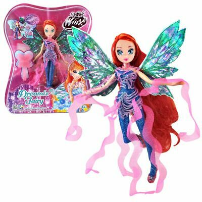 Bloom | Dreamix Fairy Puppe | Winx Club | World of Winx | Magisches Gewand