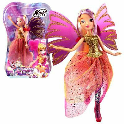 Stella | Sirenix Magic Puppe | Winx Club | Das Geheimnis des Ozeans | Fee 28 cm