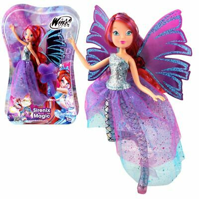 Bloom | Sirenix Magic Puppe | Winx Club | Das Geheimnis des Ozeans | Fee 28 cm