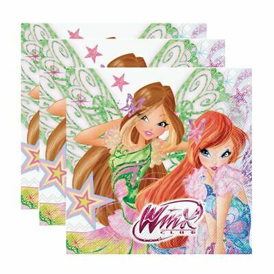 Servietten | 20 Stk. | Butterflix | Winx Club | Party Kinder Geburtstag
