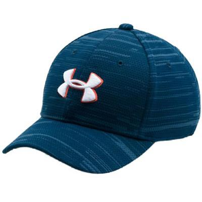 Under Armour Boys Navy Fitted Baseball Cap Size Medium (4-6 Years)