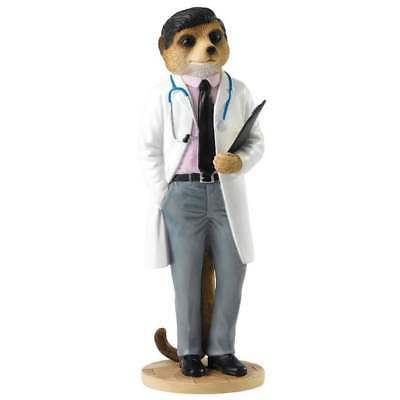 Magnificent Meerkats On Call Doctor Meerkat Figurine CA04510