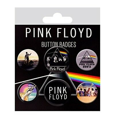 Pink Floyd Button Badges - Badge Set Mix Pack New Official