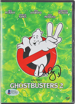 Dan Aykroyd Ghostbusters 2 Authentic Signed DVD Cover w/Disc BAS #D71957