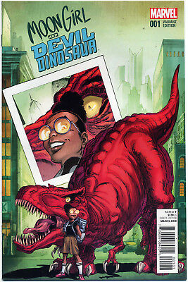 Moon Girl Devil Dinosaur #1 Von Eeden Variant Nm First Print Bagged And Boarded
