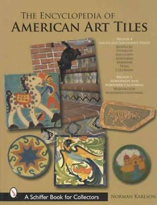 Vintage Arts & Crafts Pottery Tiles Massive Guide R4-5 California Southwest Area