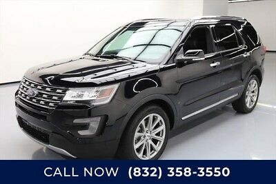 Ford Explorer Limited Texas Direct Auto 2017 Limited Used 3.5L V6 24V Automatic FWD SUV Moonroof