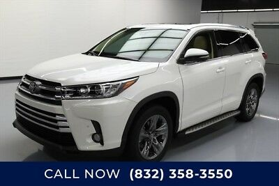 Toyota Highlander Limited Platinum 4dr SUV Texas Direct Auto 2017 Limited Platinum 4dr SUV Used 3.5L V6 24V Automatic FWD