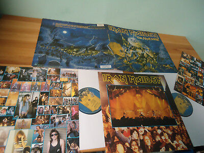LP IRON MAIDEN - Live after Death 2 LP's 1985 + OIS + Booklet 1C162-2404271