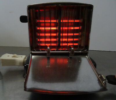 Kultiger TUR Toaster verchromt mit Bakelitgriffen - made in Germany DDR ~60er