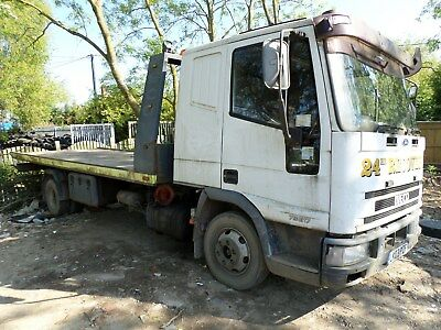 Iveco Tector 7.5 Ton Recovery Truck Spares And Or Repairs