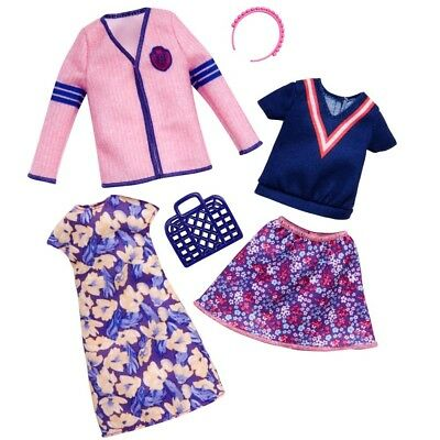 Shopping Style   2 Trend Fashion Set   Barbie   Mattel FKT29   Doll Clothes