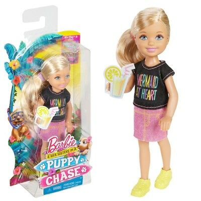 Chelsea   Barbie   Mattel DMD94   Puppy Chase   Variant A   Family Doll Sister