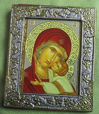 Byzantine Icon Reproduction Madonna And Child