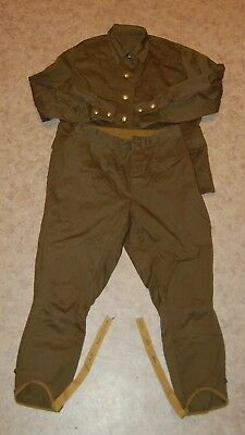 Jacket Pants Suit Russian Soviet Red Army Soldier Combat Military Field Uniform