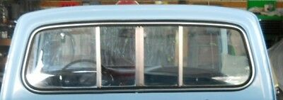 1981 1982 Chevy Luv pick up Chrome windshield and  rear window Trim