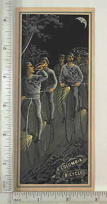 Victorian Trade Card - Columbia Bicycle.- 001