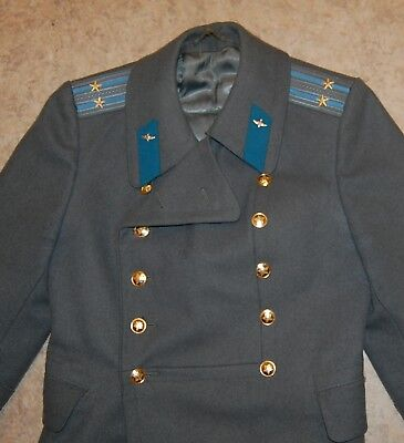 Coat Officer Russian Soviet Red Army Overcoat Military Uniform Air force USSR