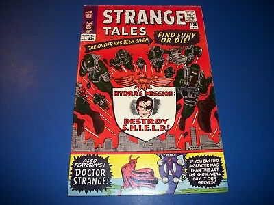 Strange Tales #136 Silver Age 2nd Nick Fury Agent of Shield Dr. Strange Wow Fine