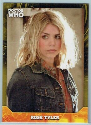 2017 Doctor Who Signature Series Yellow #18 Rose Tyler #7/25