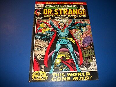 Marvel Premiere #3 Bronze Age Barry Smith Dr. Strange Wow
