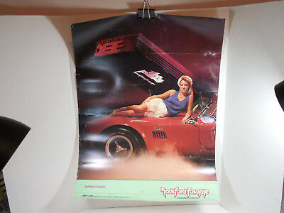 Vintage Rockford Fosgate Car Auto Audio Speakers Electronic Sexy Promo Ad Poster