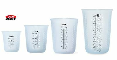 OXO Good Grips Squeeze & Pour Silicone Measuring Cup Various Sizes