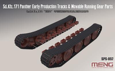 MENG MODEL SPS-057 Workable Track Set for Sd.Kfz.171 Panther Early Vers. in 1:35