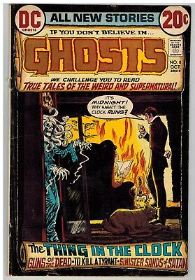 Ghosts #8 1972 Dc Bronze Age!