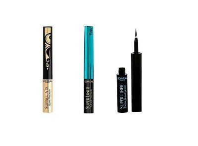 Loreal Super Liner Ultra Precision / Extra Black Gloss  Gold Turquoise *choose*