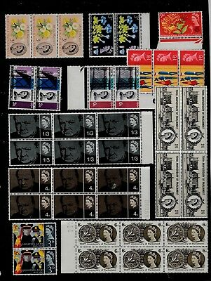 GB 1963-65 Commemorative STAMPS Multipuls BLOCK Unmounted Mint Re:QK540a