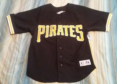 Jason Bay #38 Pittsburgh Pirates Player Photo Baseball Jersey Youth Small (8)
