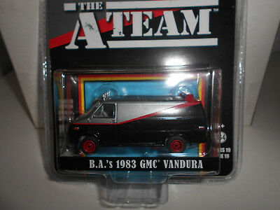 Gmc Vandura 1983 B.a.a-Team M.a.equipo A Greenlight 1/64