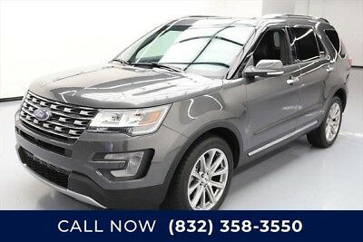 Ford Explorer Limited Texas Direct Auto 2017 Limited Used 3.5L V6 24V Automatic AWD SUV Premium