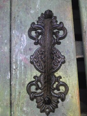 HUGE Cast Iron Antique Style LION HEAD Barn Handle Gate Pull Door Handle
