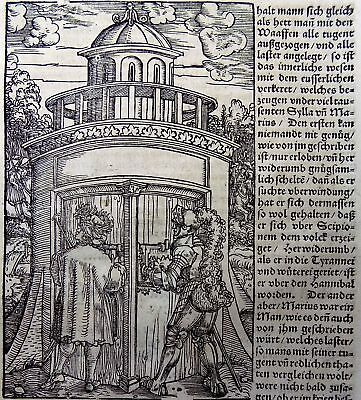 1532 Master of Petrach - Hans Weiditz 1495-1537 - woodcuts the Military Truce