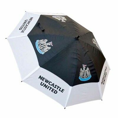 Newcastle United Football Club Double Canopy Golf Umbrella Free UK P&P
