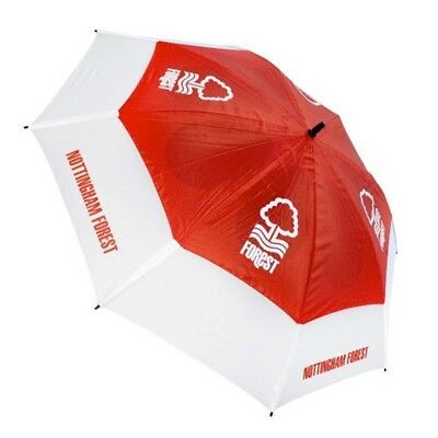 Nottingham Forest Football Club Double Canopy Golf Umbrella Free UK P&P