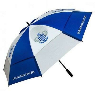 Queens Park Rangers Football Club Double Canopy Golf Umbrella Free UK P&P