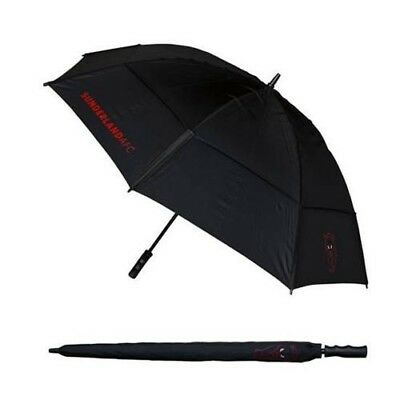Sunderland AFC Football Club Black & Red Double Canopy Golf Umbrella Free UK P&P
