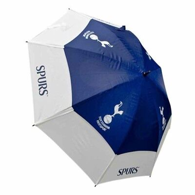 Tottenham Hotspur Football Club Double Canopy Golf Umbrella Free UK P&P
