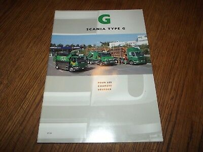Catalogue Scania Type G.