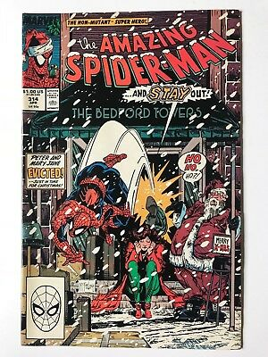 Amazing Spider-Man #314 Marvel Comics April 1989 VF+
